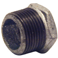 B&K Mueller 511-932HN 1/2 By 3/8 Inch Galvanized Hex Bushing
