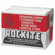Rockite 10025 Expansion Cement 25 Pound