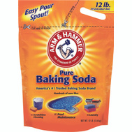 Arm & Hammer 01191 Baking Soda 12 Pound Resealable Bag