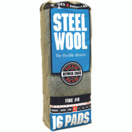 Deft PPG 106603-06 16 Pack Steel Wool Pads 0 Fine