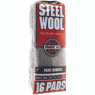 Deft PPG 106606-06 16 Pack Steel Wool Pads 3 Coarse