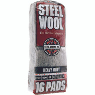Deft PPG 106607-06 16 Pack Steel Wool Pads 4 Extra Coarse
