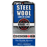 Homax 10121111 Rhodes America 12 Pack Steel Wool Pads 1 Medium