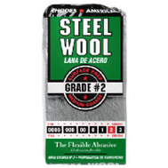 Homax 10121112 Rhodes America 12 Pack Steel Wool Pads 2 Medium Coarse