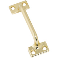 National Hardware S819-046 S805-770 S756-041 N331-173 N331-231 Stanley Sash Lift And Drawer Pull 3-7/8 Inch Overall Bright Brass