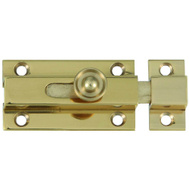 National Hardware S804-061 Stanley Slide Bolt 1-3/4 Inch Bright Solid Brass
