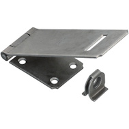 National Hardware S514-900 Stanley 6 Inch Adjustable Safety Hasp Plain Steel Weldable Loose No Screws
