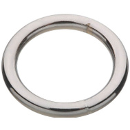 National Hardware S640-028 N244-087 Stanley Welded Ring #7 By 1 Inch Bright Chrome On Steel