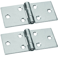 National Hardware S730-150 Stanley 1-1/2 Inch Zinc Plated Back Flap Hinges 2 Pack
