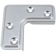 National Hardware S742-400 Stanley Screen Door Corner Brace Zinc Plated Steel Pack Of 4