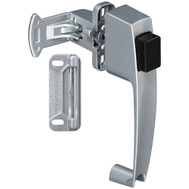 National Hardware S748-259 N178-368 Stanley Push Button Storm Door Latch Aluminum Finish