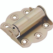 National Hardware S748-850 Stanley Adjustable Tension Full Surface Screen Door Spring Hinge Satin Brass Tone