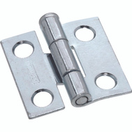 National Hardware S751-574 N141-606 Stanley Removable Pin Narrow Hinges 1 By 1 Inch Zinc Plated Steel 2 Pack