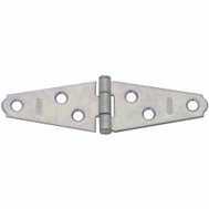 National Hardware S752-990 Stanley Light Duty Strap Hinges 2 Inch Zinc Plated Steel 2 Pack