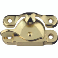 National Hardware S755-876 S571-060 S819-025 N178-947 N148-684 Stanley Crescent Sash Lock Bright Brass