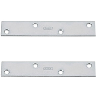 National Hardware S756-048 N220-285 Stanley Mending Braces 6 By 3/4 By 0.11 Inch Zinc Plated Steel 2 Pack