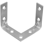 National Hardware S756-550 Stanley 2 Inch Triple Surface Zinc Plated Corner Braces 2 Pack