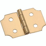 National Hardware S803-350 Stanley 5/8 Inch Brass Ornamental Cabinet Hinge