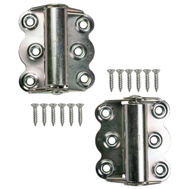 National Hardware S810-317 Stanley Spring Screen Door Hinge Zinc Plated Steel 2 Pack