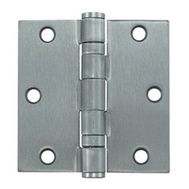 National Hardware S068-096 Stanley Ball Bearing Commercial Door Hinge 3-1/2 Inch Satin Chrome