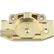 National Hardware S756-047 Stanley Security Sash Lock Jimmy-Proof Bright Brass