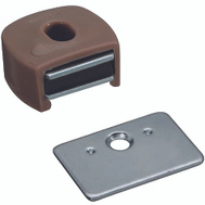 National Hardware S711-030 N710-506 Stanley Magnetic Cabinet Catch Tan