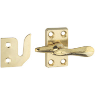 National Hardware S754-022 Stanley Casement Fastener Bright Brass Plated