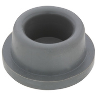 National Hardware S577-097 N215-889 Stanley Concave Rubber Door Bumpers 1-7/8 Inch Gray 2 Pack