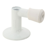 National Hardware S755-880 Stanley Floor Mount Screw Drive Door Stop White