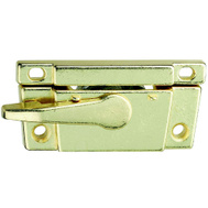 National Hardware S819-171 Stanley Narrow Sash Lock Bright Brass