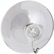 National Hardware S819-985 S752-011 Stanley Large Clear Plastic Suction Cup 2 Pack