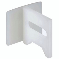 National Hardware S403-532 Stanley Pocket Door Guide White 2 Pack