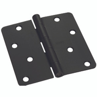 National Hardware S750-372 Stanley 4 Inch 1/4 Radius Door Hinges Oil Rubbed Bronze 2 Pack