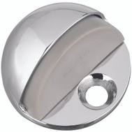 National Hardware S750-051 S750-053 Stanley Low Rise Dome Floor Mount Door Stop Bright Chrome