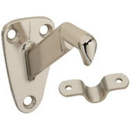 National Hardware S750-155 Stanley Heavy Duty Handrail Bracket Bright Nickel