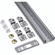 National Hardware S403-006 N343-111 Stanley By-Passing Door Hardware Kit 48 Inch Galvanized Steel