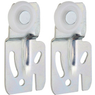 National Hardware S541-272 S403-092 N344-879 Stanley By-Passing Sliding Door Hangers 1/4 Inch Offset Zinc Plated Steel 2 Pack