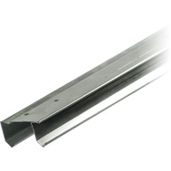 National Hardware S593-096001 Stanley By-Passing Sliding Door Track 48 Inch Nominal 46-3/8 Inch Galvanized Steel