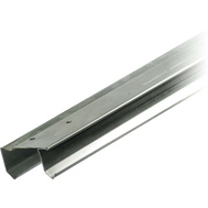 National Hardware S593-100 Stanley By-Passing Sliding Door Track 60 Inch Nominal 58-3/8 Inch Galvanized Steel