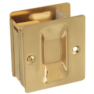 National Hardware S404-000 Stanley Passage Pocket Door Pull 1-3/8 To 1-3/4 Inch Doors Bright Brass