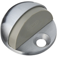National Hardware S570-003 N215-830 Stanley Low Rise Heavy Duty Dome Floor Mount Door Stop Satin Chrome