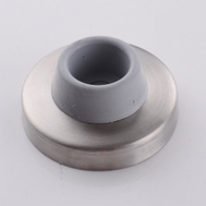 National Hardware S570-005 Stanley Heavy Duty Concave Wall Door Stop 2-1/2 Inch Satin Chrome