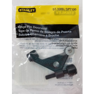National Hardware S571-089 Stanley Hinge Pin Door Stop Oil Rubbed Bronze With Textured Center