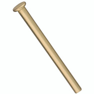 National Hardware S690-270 Stanley Replacement Hinge Pins 3-1/2 Inch Satin Brass 4 Pack