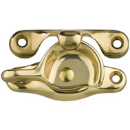 National Hardware S804-000 Stanley Sash Lock Solid Brass Lifetime Bright Brass