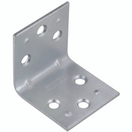 National Hardware N285-544 S755-680 Stanley Double Wide Corner Braces 1-1/2 By 1-1/2 By 0.07 Inch Zinc Plated Steel 2 Pack