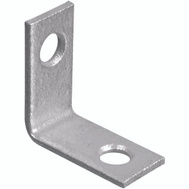 National Hardware S756-106 N236-037 Stanley Corner Braces 1 By 1/2 By 0.07 Inch Galvanized Steel 2 Pack