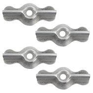 National Hardware S752-002 N247-965 Stanley 1-3/4 Inch Galvanized Turn Buttons 4 Pack