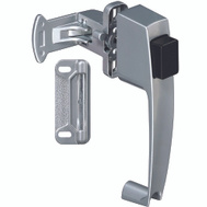 National Hardware S128-033 N185-454 Stanley Push Button Screen And Storm Door Latch 1-1/2 Inch Aluminum