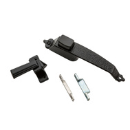 National Hardware S126-043 N100-023 Stanley Colonial Pushbutton Storm And Screen Door Latch Black